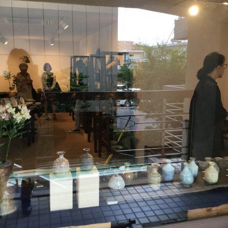 草來舎 和食器 作家もの 展示会 灰釉 焼締 自然釉 登り窯 ギャラリー安里 覚王山