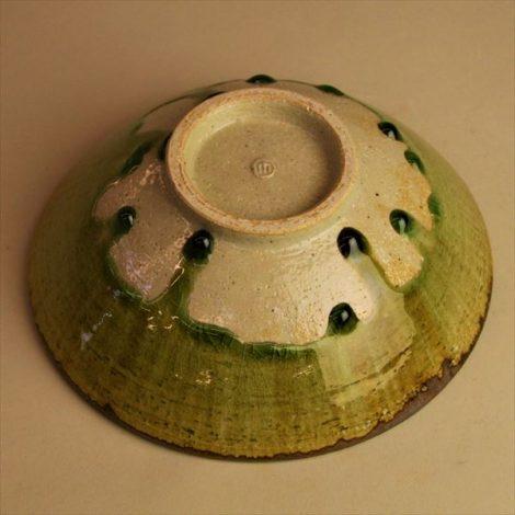 草來舎 和食器 鉢 灰釉 登り窯 林檎灰釉