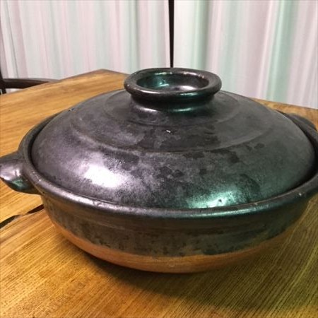 草來舎 里山 秋 キノコ 土鍋